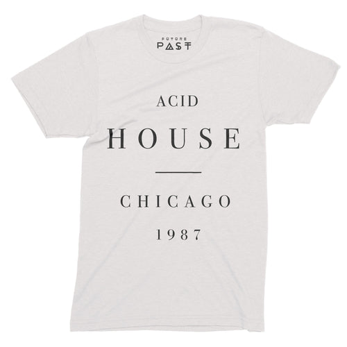 Acid House Substance T-Shirt /White - Future Past Clothing