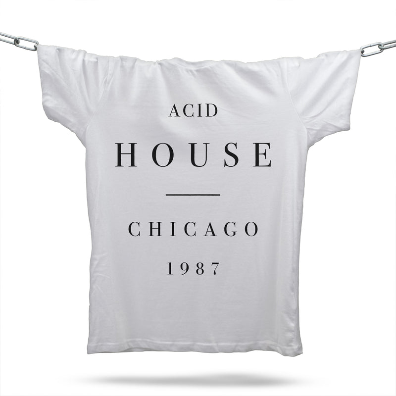 Acid House Substance T-Shirt / White - Future Past Clothing