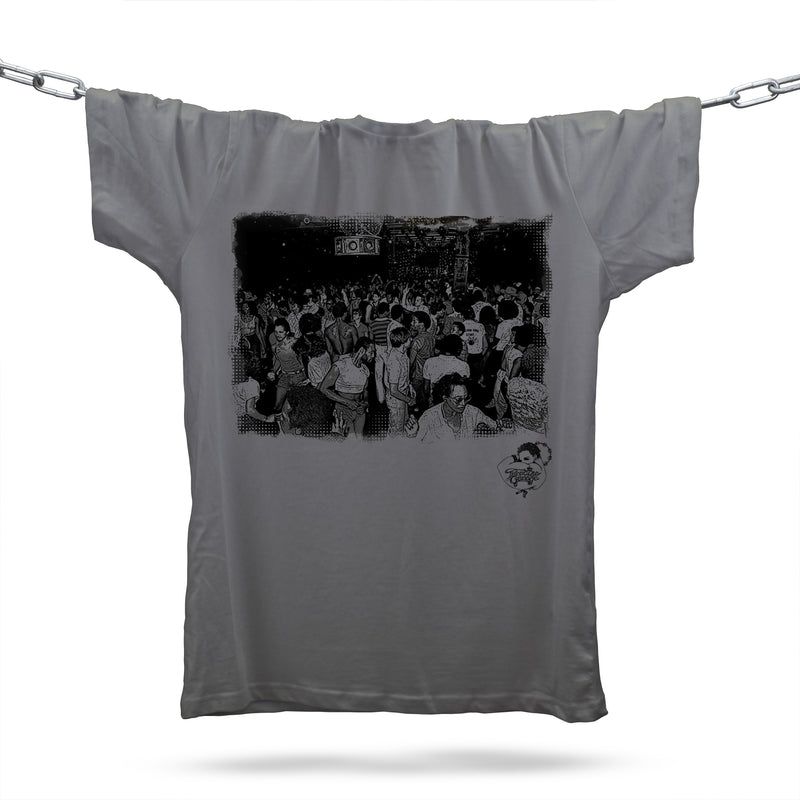 Tribute To Paradise Garage T-Shirt / Grey - Future Past Clothing