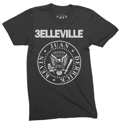 Belleville Three Detroit Techno T-Shirt / Black - Future Past Clothing
