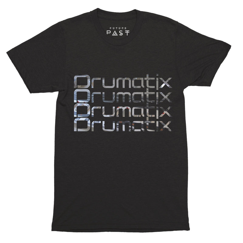 Drumatix T-Shirt / Black - Future Past Clothing