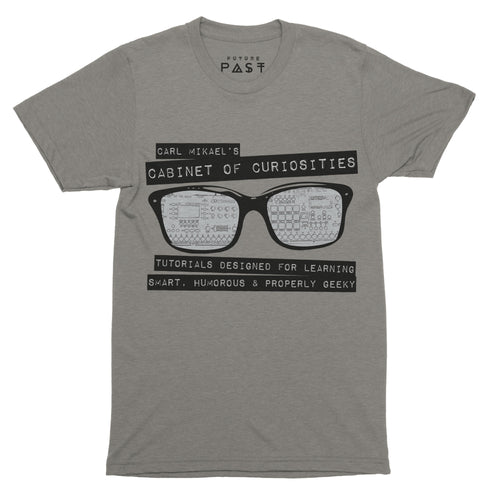 Carl Mikael's Cabinet of Curiosities T-Shirt / Grey - Future Past Clothing