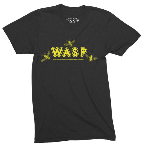 EDP Wasp Inspired T-Shirt / Black - Future Past Clothing