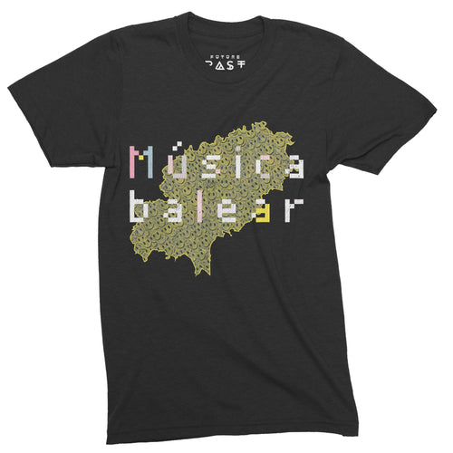Balearic Beats Ibiza 1987 T-Shirt / Black - Future Past Clothing