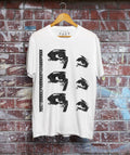 Cine Reel Eyes T-Shirt / White - Future Past Clothing