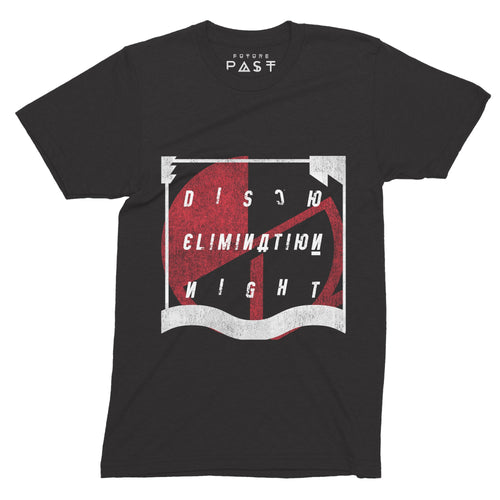 Disco Elimination Night T-Shirt / Black - Future Past Clothing