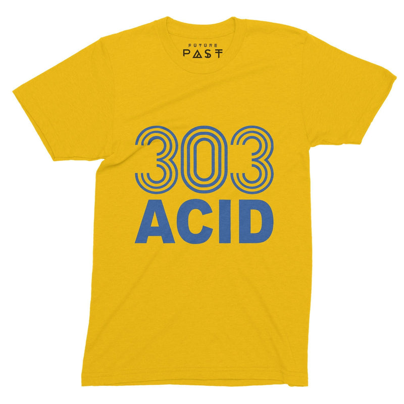 303 Acid State T-Shirt / Gold - Future Past Clothing