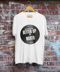 It Wasn't Grim Up North It Was Better T-Shirt / White - Future Past Clothing
