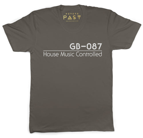 GB-087 House Music Controlled T-Shirt / Khaki - Future Past Clothing