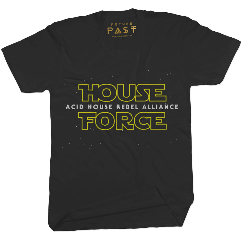 House Force Alliance T-Shirt / Black - Future Past Clothing