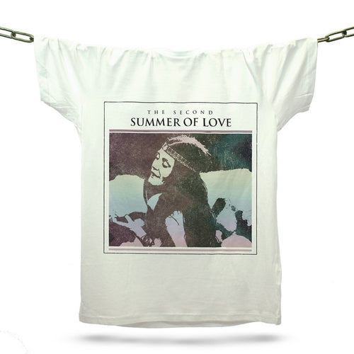 Second Summer Of Love T-Shirt / White - Future Past Clothing