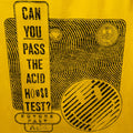 Acid House Test T-Shirt / Gold - Future Past Clothing