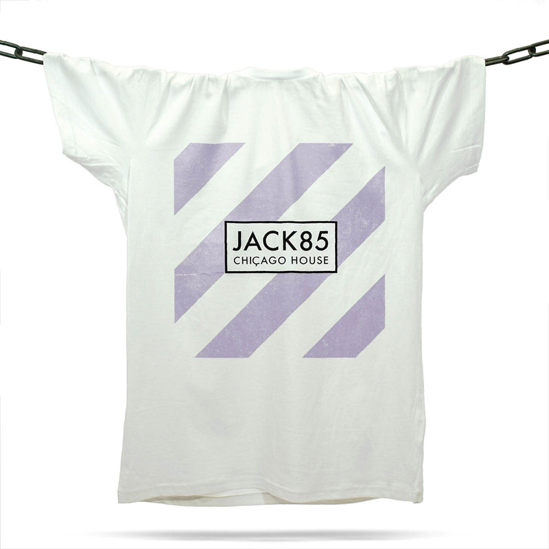 Jack 85 Chicago House T-Shirt / White - Future Past Clothing