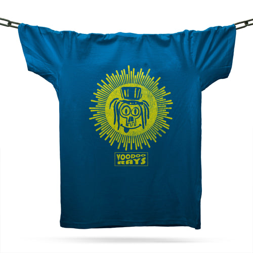 Voodoo Rays T-Shirt / Royal - Future Past Clothing