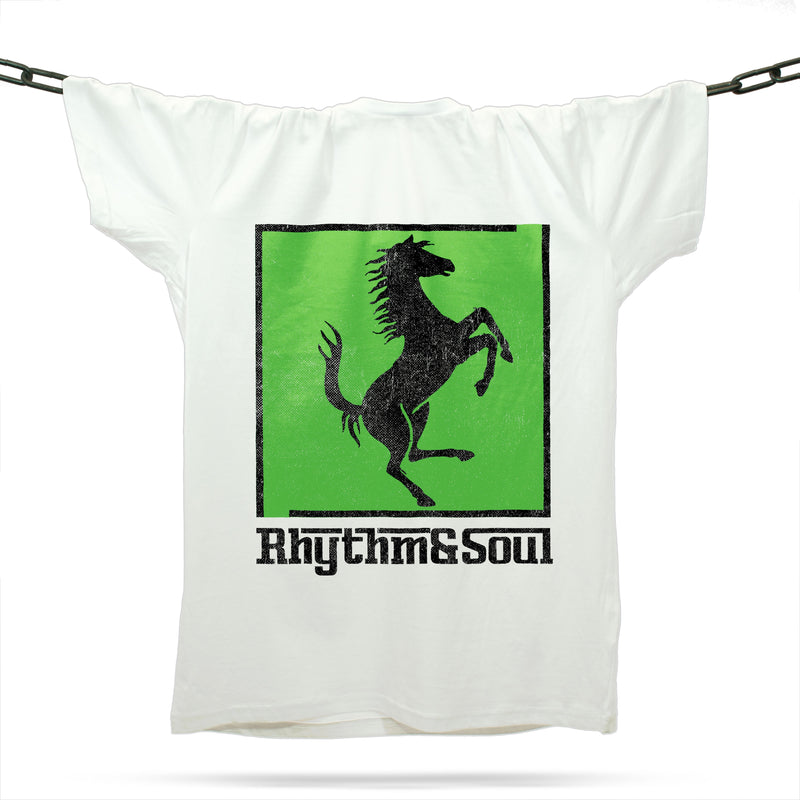 Rhythm And Soul T-Shirt / White - Future Past Clothing