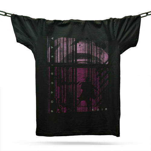 Run Run Away T-Shirt / Black - Future Past Clothing