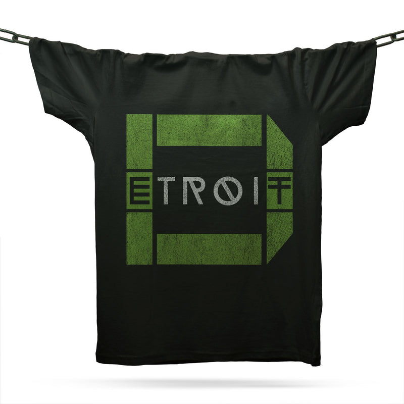 Techno Detroit T-Shirt / Black - Future Past Clothing