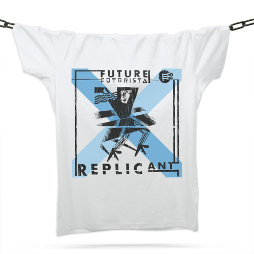 Futurista Replicant T-Shirt / White - Future Past Clothing