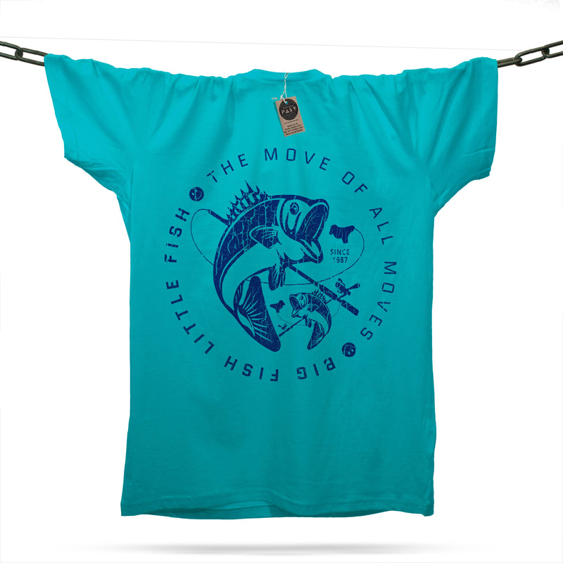 Big Fish Little Fish T-Shirt / Atoll - Future Past Clothing