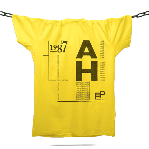 House 1987 T-Shirt / Gold - Future Past Clothing