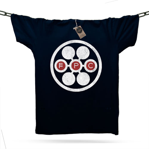 FPC Circle T-Shirt / Navy - Future Past Clothing