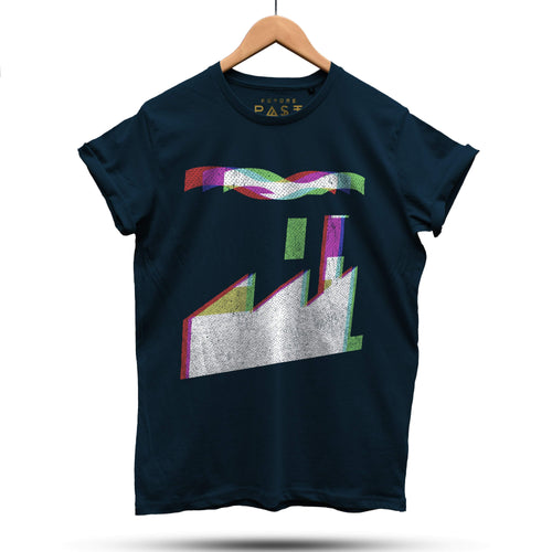 FAC51 Official Peter Saville Inspired T-Shirt / Navy - Future Past Clothing