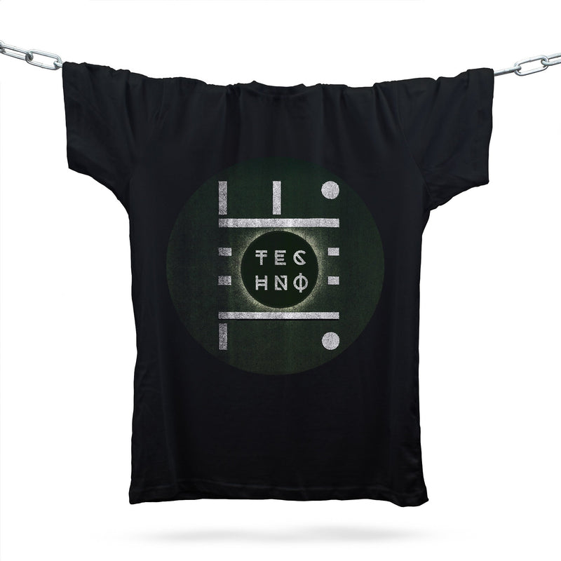 Techno Movement T-Shirt / Black - Future Past Clothing