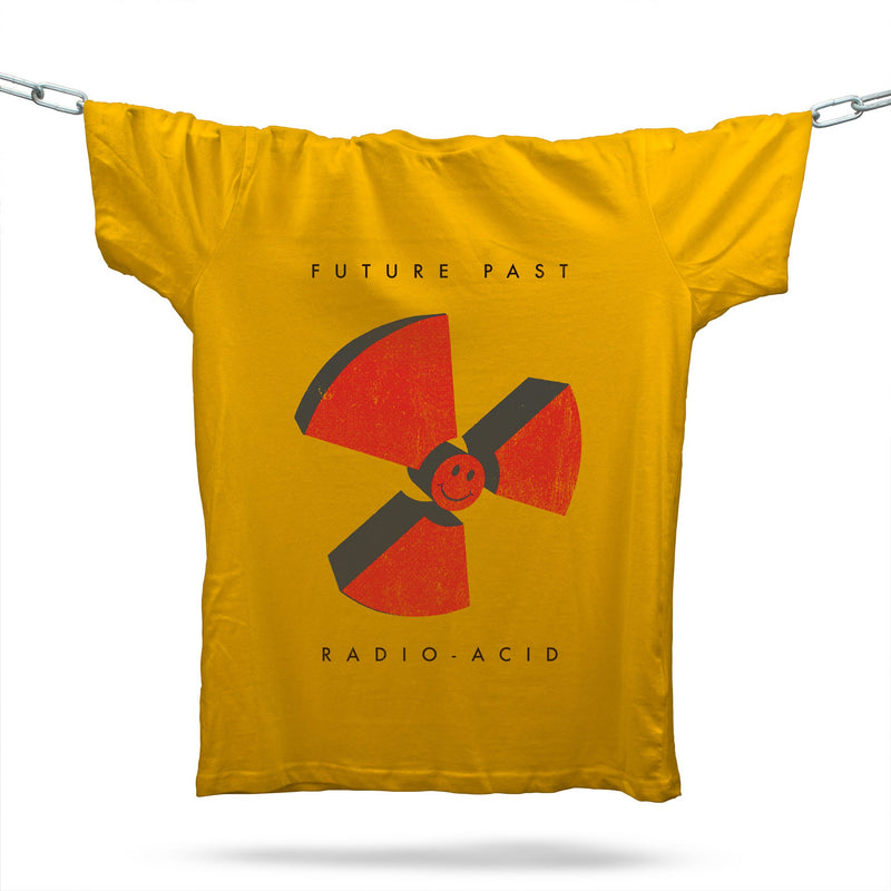 Radio-Acid T-Shirt / Gold - Future Past Clothing
