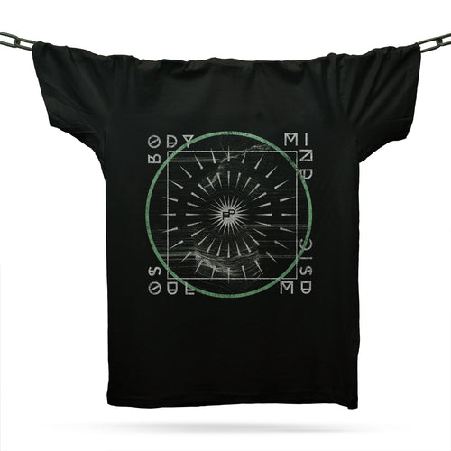 Mind Body & Soul T-Shirt / Black - Future Past Clothing