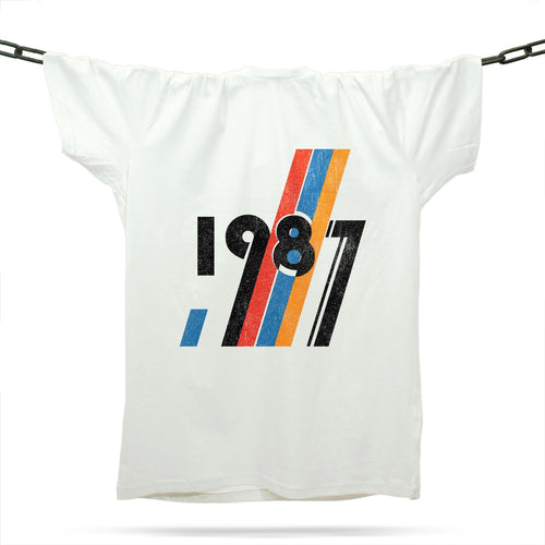 The Dawn Of 1987 / White - Future Past Clothing