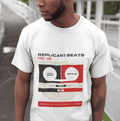 Replicant Beats T-Shirt / White - Future Past Clothing
