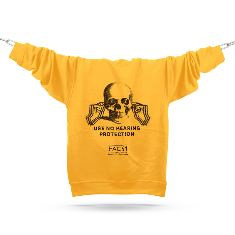 Official Hacienda FAC51 Collaboration Sweatshirt / Gold - Future Past Clothing
