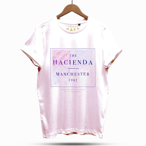Official Hacienda FAC51 Substance T-Shirt / Cream - Future Past Clothing