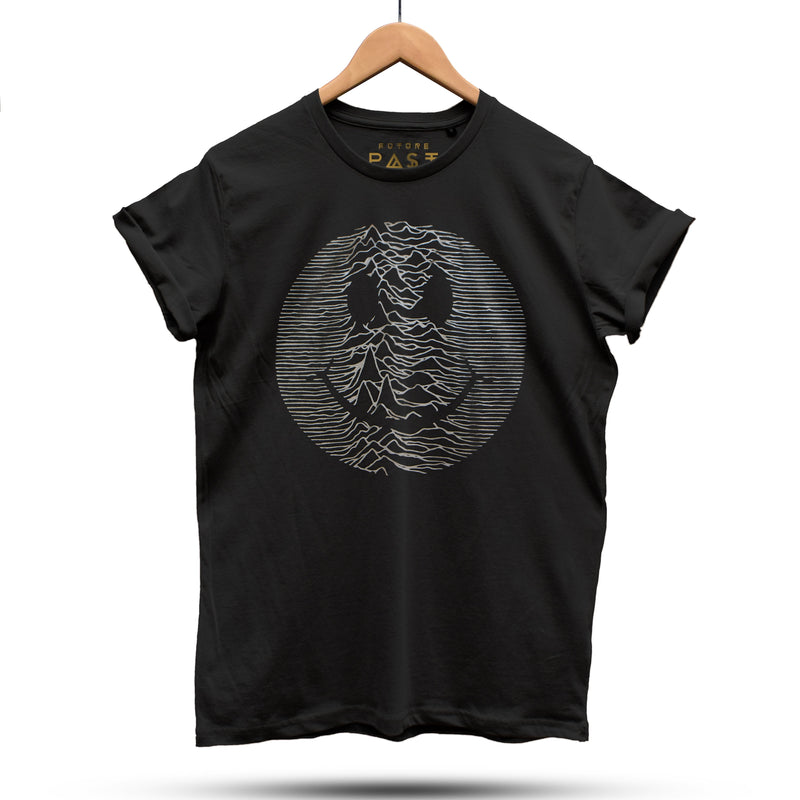 Techno Pulsar T-Shirt / Black - Future Past Clothing