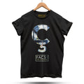 Official Hacienda FAC51 Cedilla T-Shirt / Black - Future Past Clothing
