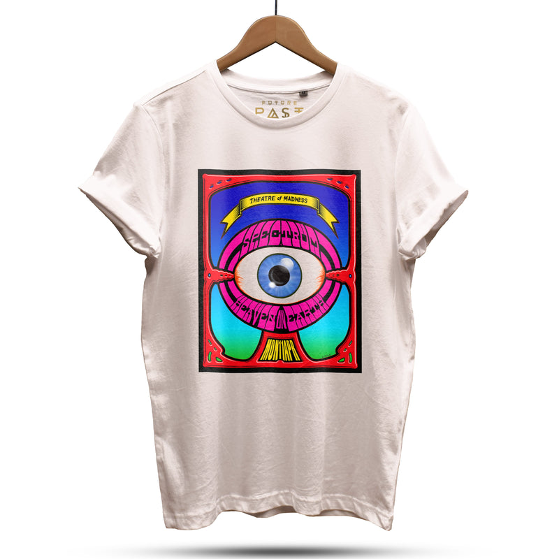 Ltd. Edition Spectrum Dave Little T-Shirt / Cream - Future Past Clothing