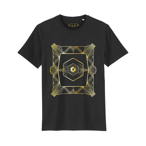 Acid Deco Dave Little T-Shirt / Black - Future Past Clothing