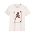 Acid Pinup Girl Part 5 T-Shirt / Cream - Future Past Clothing