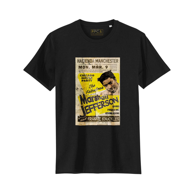 Official Hacienda House Party Poster FAC51 T-Shirt - Future Past Clothing