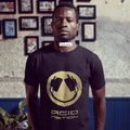 One Love Gold Headphone Smiler T-Shirt / Black - Future Past Clothing