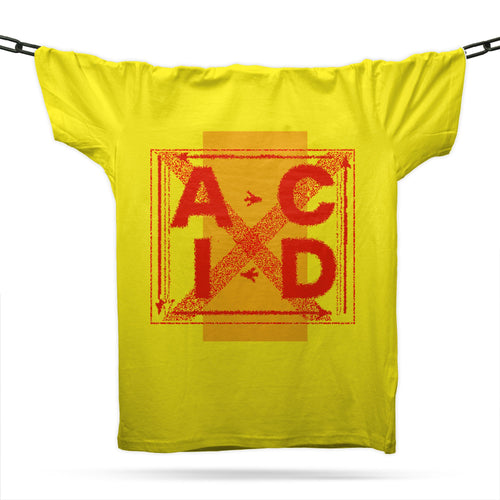 Artistic Acid T-Shirt / Gold - Future Past Clothing