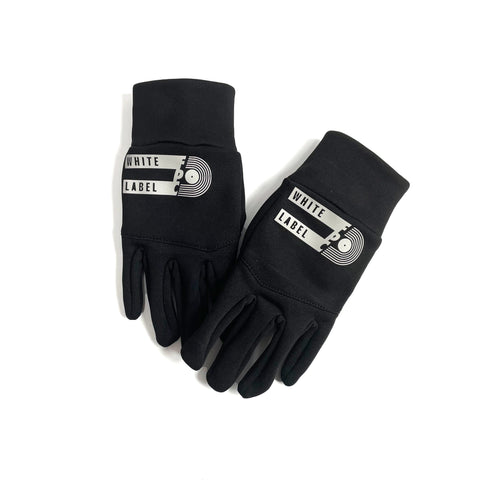 White Label Gloves / Black - Future Past Clothing