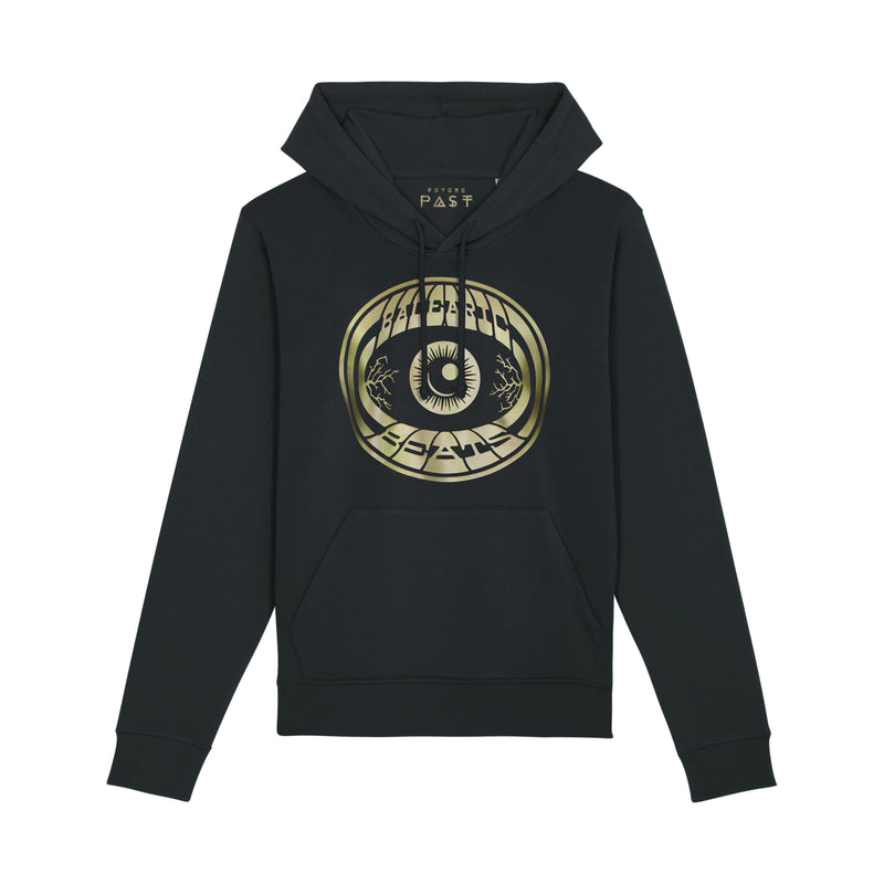 Balearic Beats Dave Little Hoodie / Black - Future Past Clothing