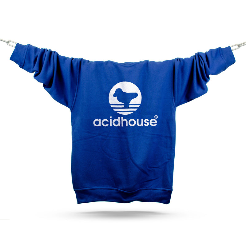 Acid House Sportswear Premium Sweatshirt / Royal - Future Past Clothing