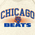 Chicago Beats Premium Sweatshirt / Cream Marl - Future Past Clothing