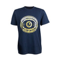Gold Balearic Eye Dave Little T-Shirt / Navy - Future Past Clothing