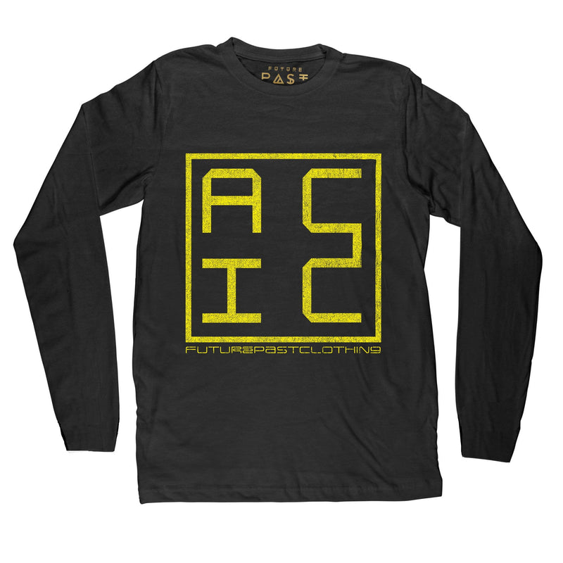 Acid FPC Long Sleeve T-Shirt / Black - Future Past Clothing