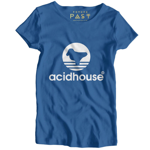 Acid House Sportswear Women's T-Shirt / Royal - Future Past Clothing