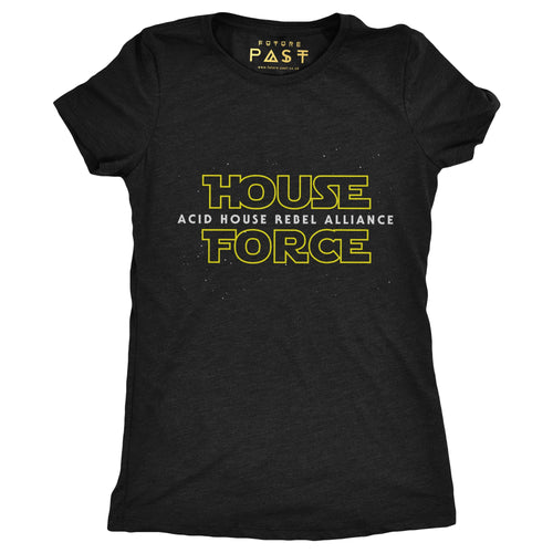 House Force Women's T-Shirt / Black - Future Past Clothing