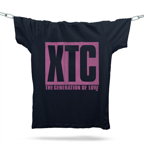 The Generation Of Love T-Shirt / Black - Future Past Clothing